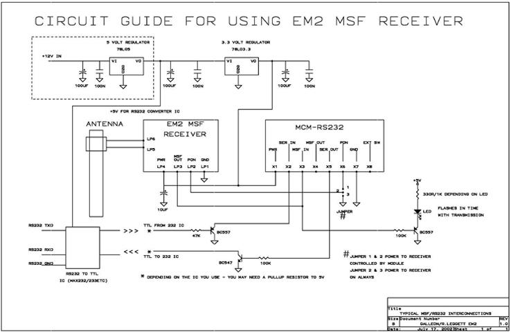 decoder RS232
